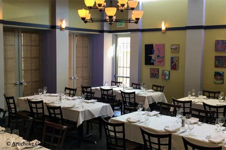Artichoke Cafe has one of GAYOT's highest restaurant ratings in Albuquerque