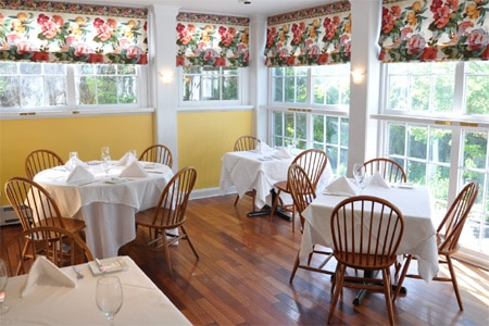 Dining Room at The Ashby Inn & Restaurant, Paris, VA