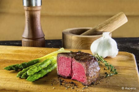 Aspens Signature Steaks offers a worthy steak option in the 'burbs.