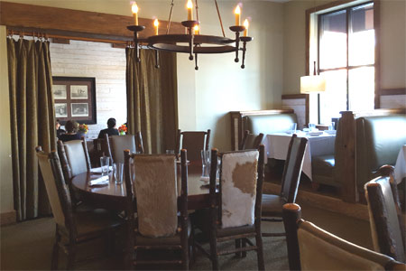 Dining Room at Aspens Signature Steaks, Marietta, GA