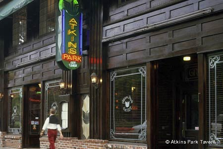 Dining Room at Atkins Park Tavern, Atlanta, GA