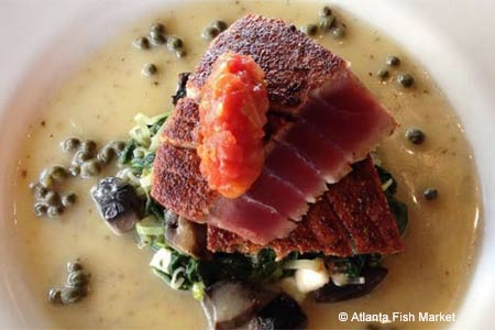 Enjoy some of Atlanta's best seafood at Atlanta Fish Market restaurant