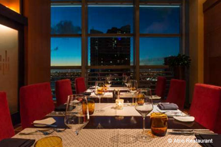 Atrio Restaurant & Wine Room at Conrad Miami, Miami, FL