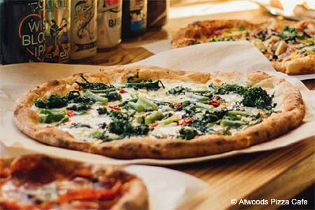 Atwoods Pizza Cafe serves some of the best pizza in Atlanta