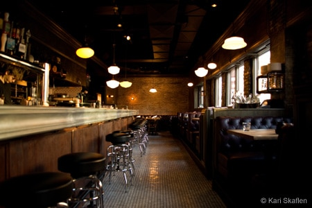 Dining Room at Au Cheval, Chicago, IL