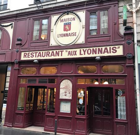 Aux Lyonnais, Paris,