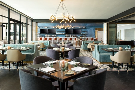 Dining Room at AVEO Table + Bar, Dana Point, CA