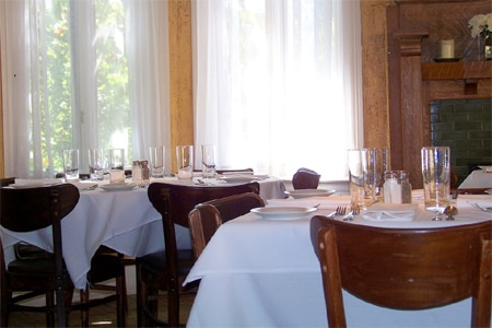 Dining room at Babette's Cafe, Atlanta, GA