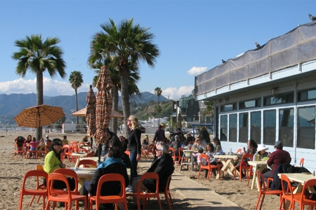 Back on the Beach Cafe, Santa Monica, CA
