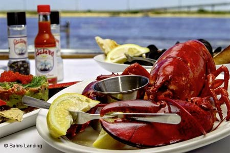 Bahrs Landing is one of GAYOT's Top Rated Restaurants in Jersey Shore