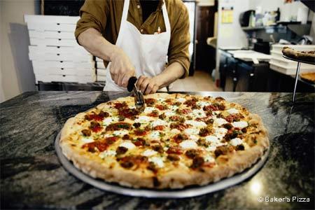 Baker's Pizza + Espresso, New York, NY
