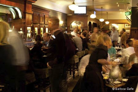 Dining Room at Balboa Cafe, San Francisco, CA