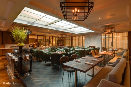 Dining Room at Baltaire, Los Angeles, CA