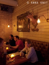 Dining room at Bangers & Lace, Chicago, IL