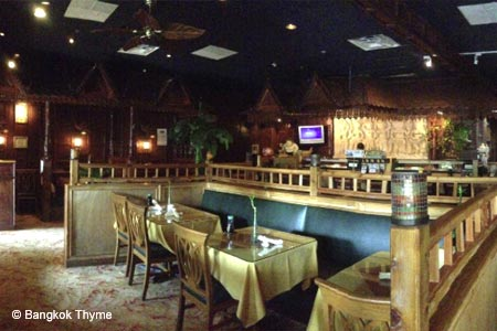 Authentic Thai cuisine and sushi create drama and taste at this welcoming establishment.