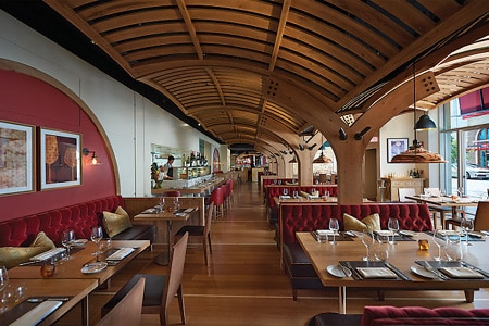 Dining Room at Bar Boulud, Boston, MA