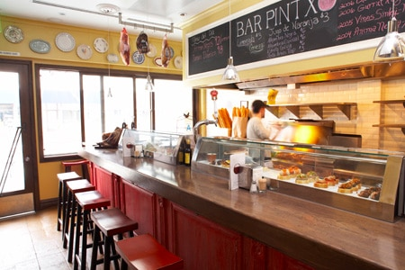 Enjoy Spanish tapas at Bar Pintxo, one of GAYOT's Top 10 Small Plates Restaurants in Los Angeles