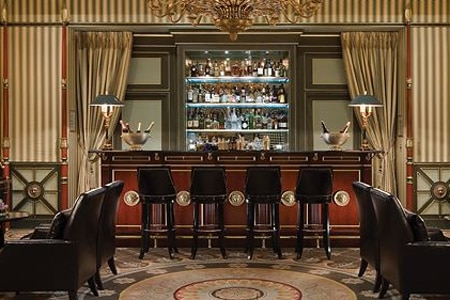 Sip signature cocktails at Le Bar at Shangri-La Hotel, Paris, one of the Top 10 Bars in Paris