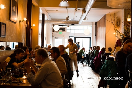 Dining Room at Bar Tartine, San Francisco, CA