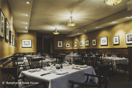 Barberian's Steak House, Toronto, canada