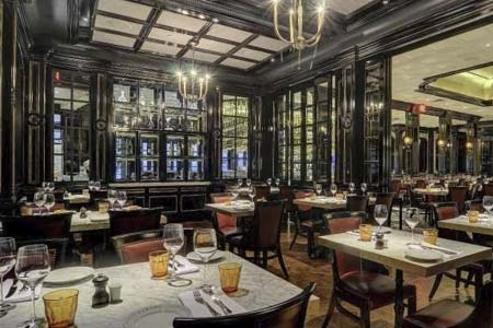 Michael Mina's take on a French brasserie offers traditional fare at Aria Resort & Casino.