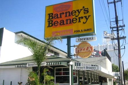 Barney's Beanery, West Hollywood, CA