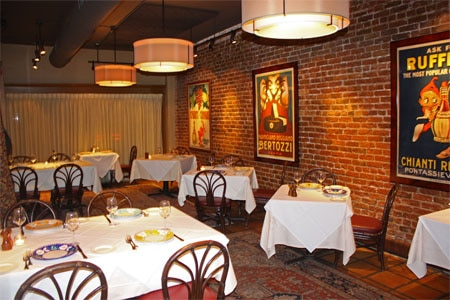 Dining Room at Barolo Grill, Denver, CO