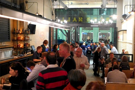 Barrel Down in downtown Los Angeles has re-opened