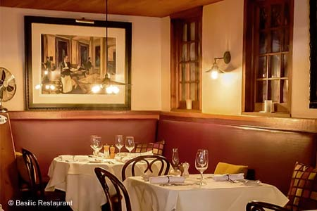 Basilic Restaurant, Newport Beach, CA