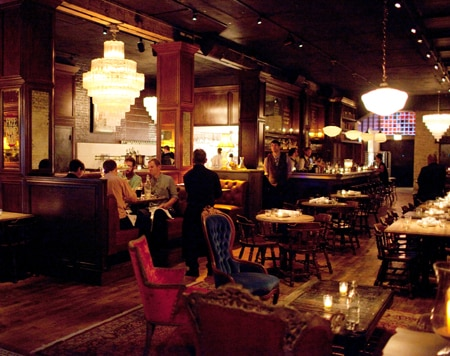 Dining room at Bavette's Bar & Boeuf, Chicago, IL