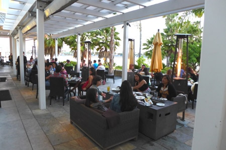 Dining Room at Beachside Restaurant & Bar, Marina del Rey, CA