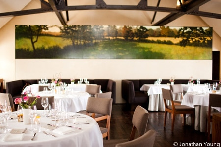 Enjoy a farm-to-table dining experience at Blue Hill at Stone Barns in Tarrytown, New York