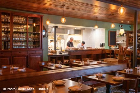 French bistro from chefs Walter and Margarita Manzke on Pico Boulevard.