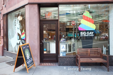 Dining Room at Big Gay Ice Cream Shop, New York, NY
