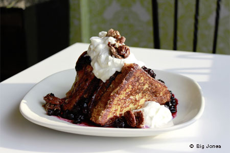 French toast at Big Jones, one of GAYOT's Best Brunch Restaurants in Chicago