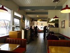 Dining room at Big Tomy's, Los Angeles, CA