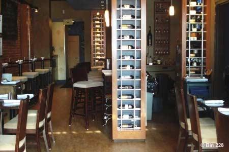 Dining Room at Bin 228, Hartford, CT