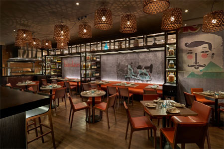 Polished and well-prepared rendition of Indian street food, inspired by Rasika executive chef Vikram Sunderam.