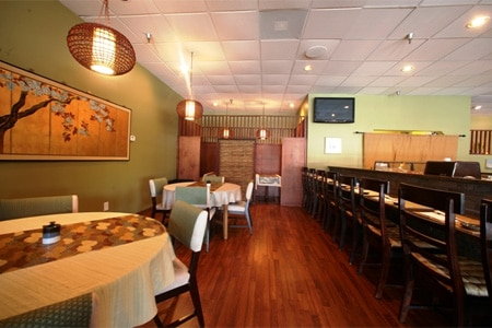 Dining Room at Bishoku, Sandy Springs, GA