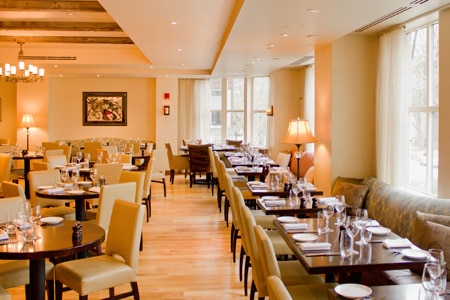 Dining room at Bistro du Midi, Boston, MA