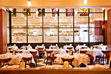 Dining Room at Bistro Bis, Washington, DC