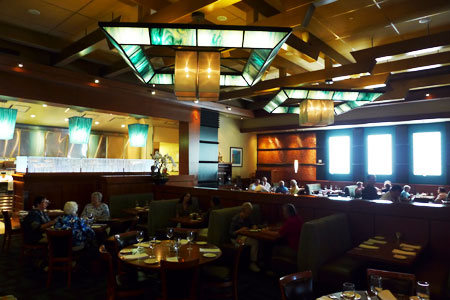 Dining Room at Bistro West, Carlsbad, CA