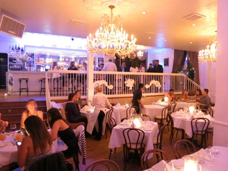 Dining Room at Bagatelle Los Angeles, West Hollywood, CA