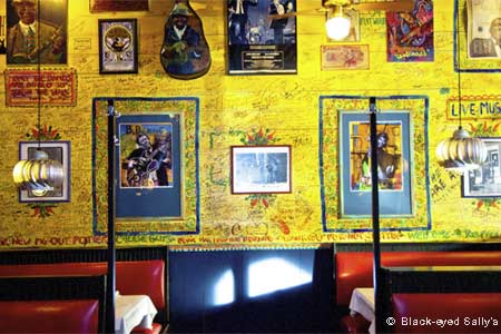 Sally's is Hartford's hot-spot for good New Orleans-y fare and even better live blues.