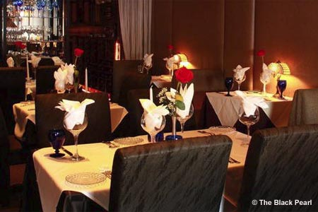 Celebrate Valentine's Day with the special menu at The Black Pearl in Dunedin, Florida
