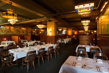 Upscale dining in McMenamin's Edgefield entertainment complex.