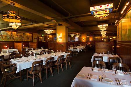 Dining Room at Black Rabbit Restaurant & Bar, Troutdale, OR