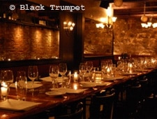 Dining Room at Black Trumpet Bistro, Portsmouth, NH