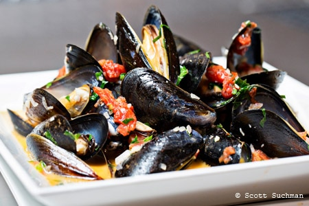 Enjoy some of Washington, DC's best seafood at BlackSalt Restaurant