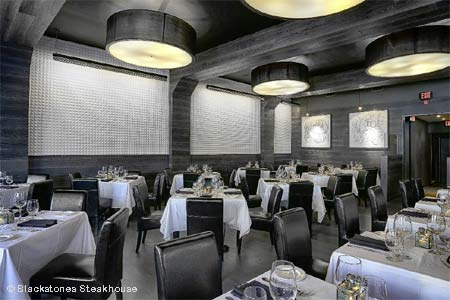 Classic steakhouse fare served in a stylish and contemporary dining space.
